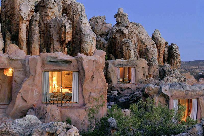 Hotel Di Lusso Interni : Kagga kamma natura reserve lhotel di lusso nato allinterno di