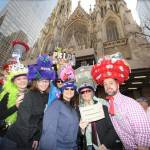 New Yorkers Show Off Their Holiday Fashions At Annual Easter Parade