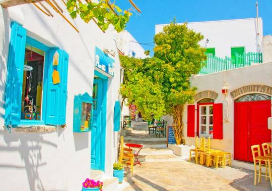 Amorgos Island, Grecia