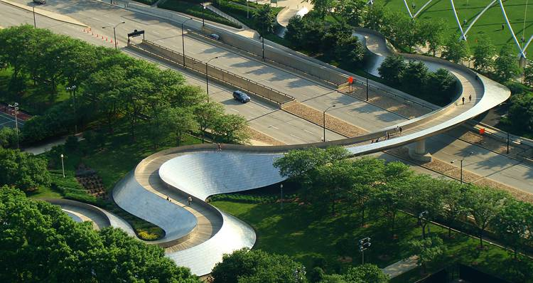 Bp Bridge, Chicago