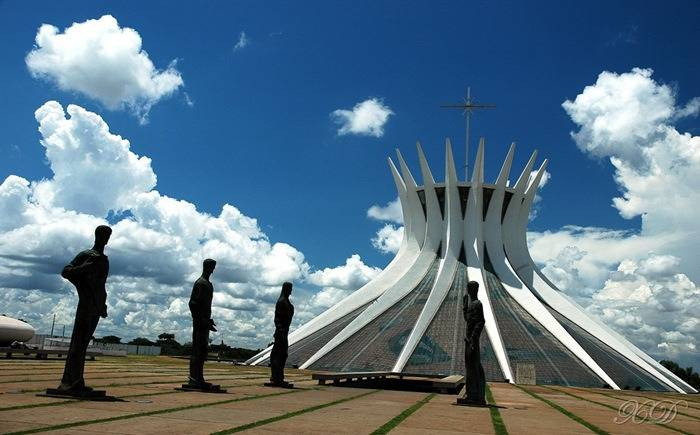 Cathedral of Brasilia (Brasile).
