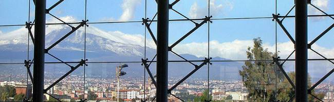 Etna dall'aeroporto di Catania