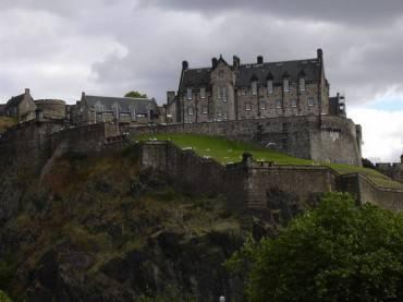 Il Castello di Edimburgo (Scozia)