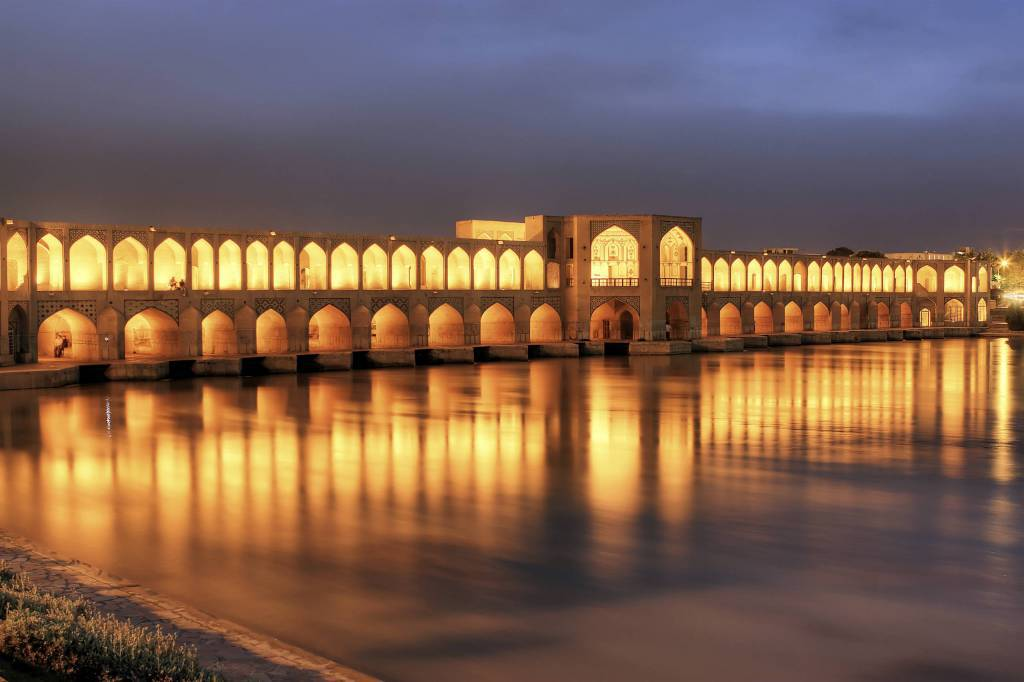 Khaju Bridge, Iran