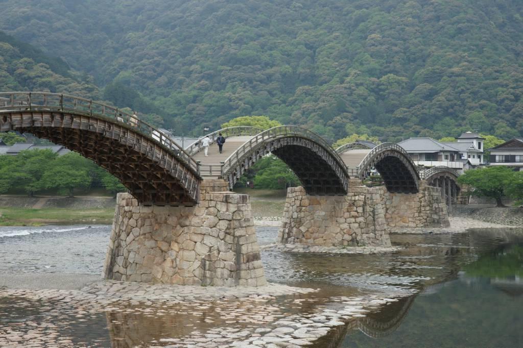 Kintai Bridge, Giappone