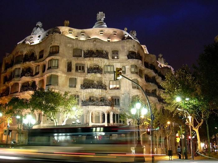 La Pedrera (Barcellona, Spagna).