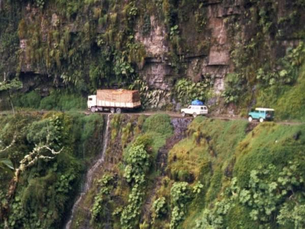 La strada della Morte (Bolivia)