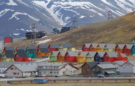 Longyearbyen, Svallbard, Norvegia