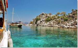 Marmaris Turkey turqoise waters 300x188 Guida | Turchia: Estate a Marmaris, info e consigli