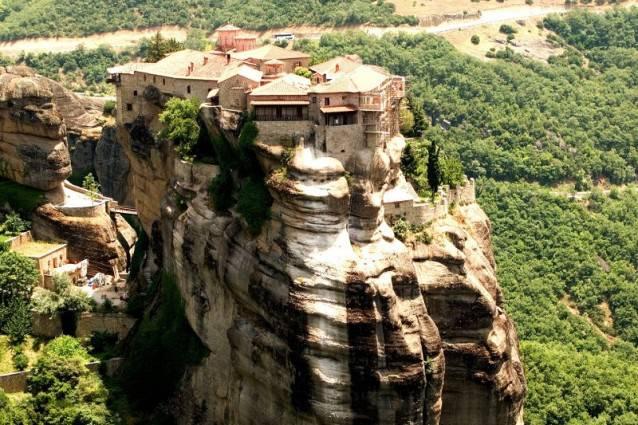 Metéora, in Grecia