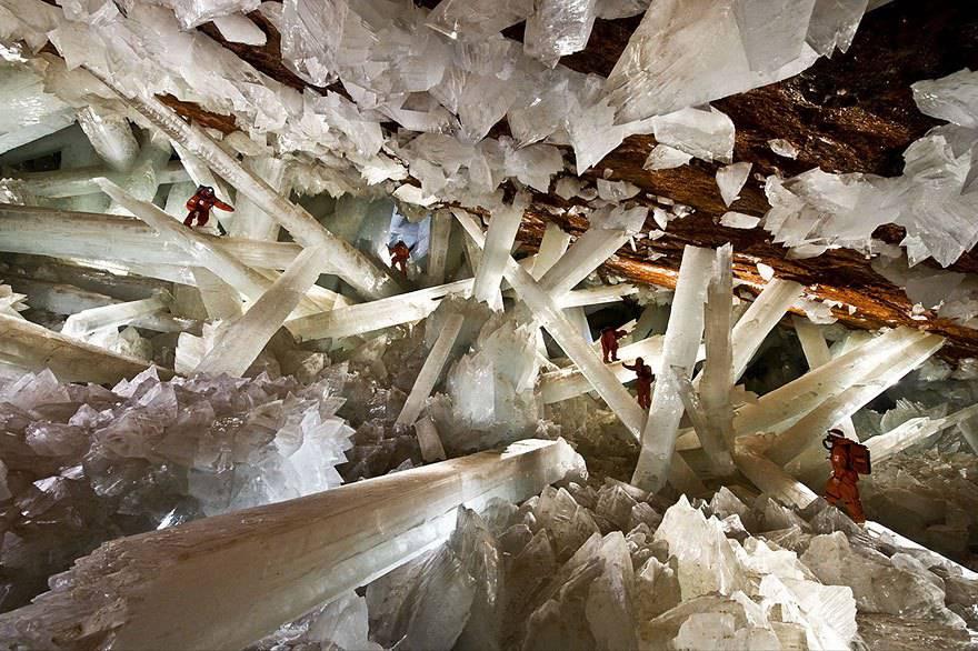 Miniera di Naica, Mexico.