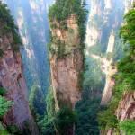 Montagne Tianzi, Cina.