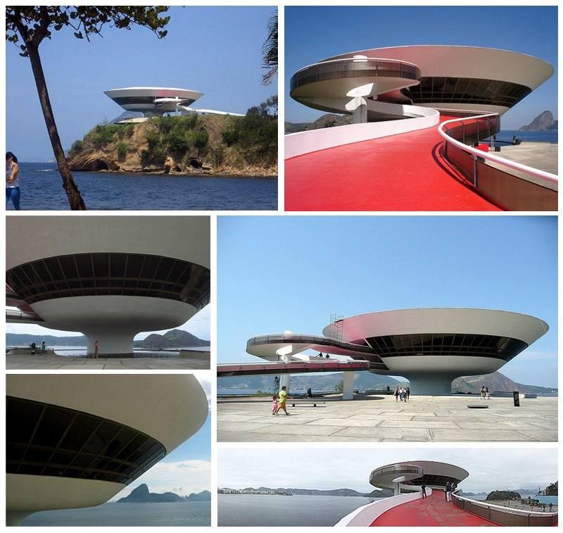 Museum of Contemporary Art (Niteroi, Rio de Janeiro, Brasile).