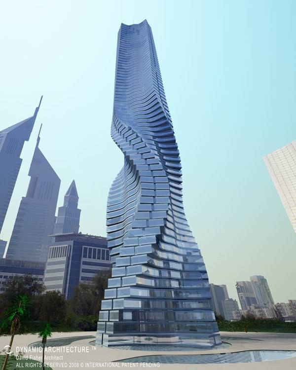 Rotating Tower, Dubai