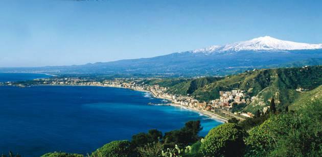 L'Etna da Taormina