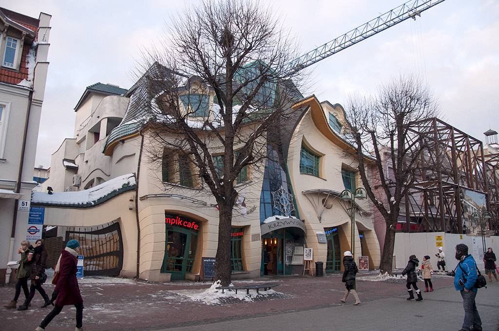 The Crooked House (Sopot)