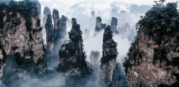 Tianzi Mountains, Cina