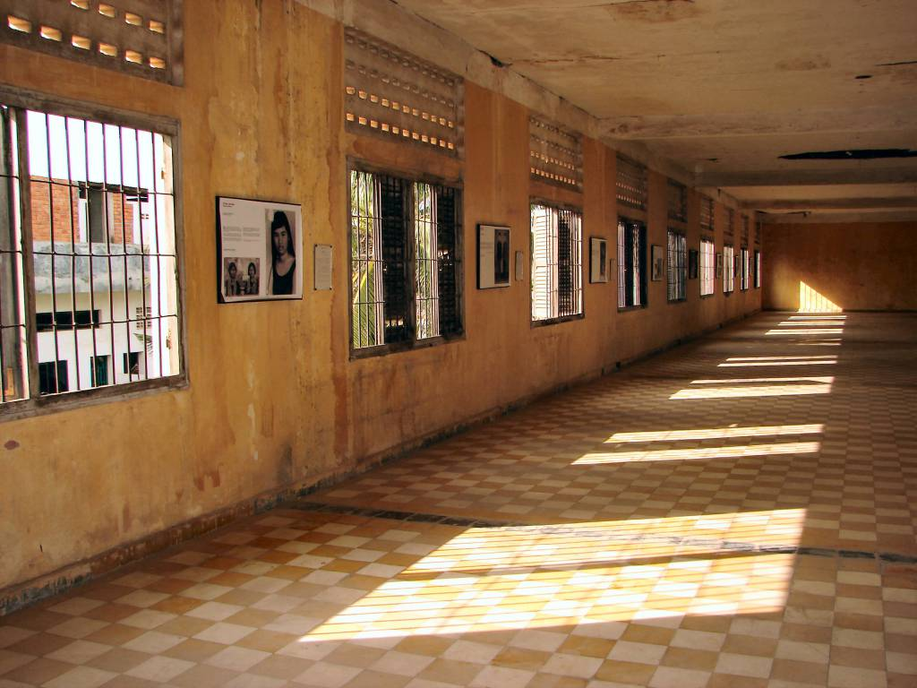 Tuol Sleng Genocide Museum (Cambogia)
