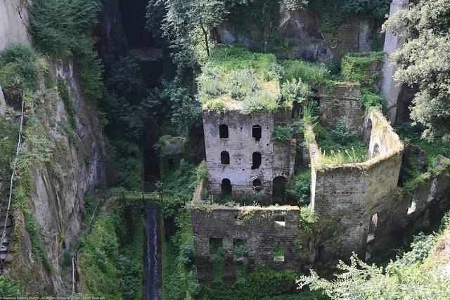 Vallone dei Mulini, Sorrento (Napoli)