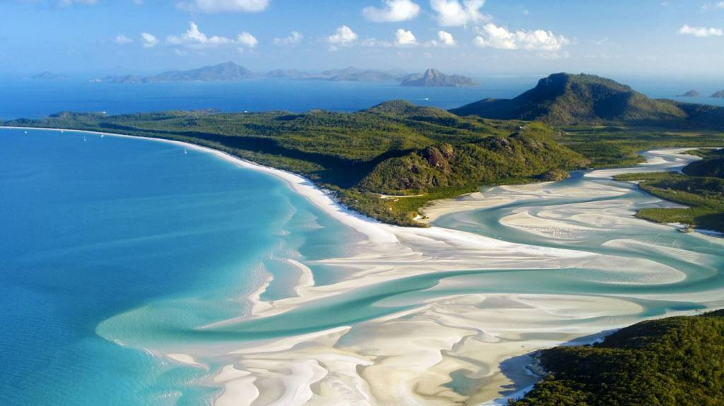 Whitehaven Beach, Whitsunday Island (Isole Whitsunday)