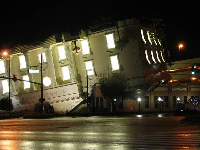 Wonderworks (Pigeon Forge, TN, USA).