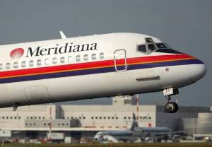 aereomeridiana 02 300x208 Voli low cost: Meridiana Fly, 42% di sconto sui biglietti