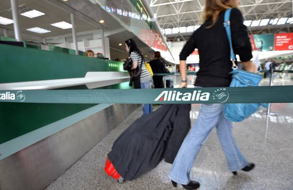 ITALY-AIRLINE-BUSINESS-ALITALIA