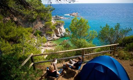 Idee di viaggio estate 2011 i migliori campeggi low cost sul mare in europa - Camping in toscana sul mare con piscina ...