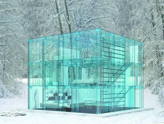 Incredibile ecco la casa di vetro per vivere la natura viaggi - La casa di vetro ...