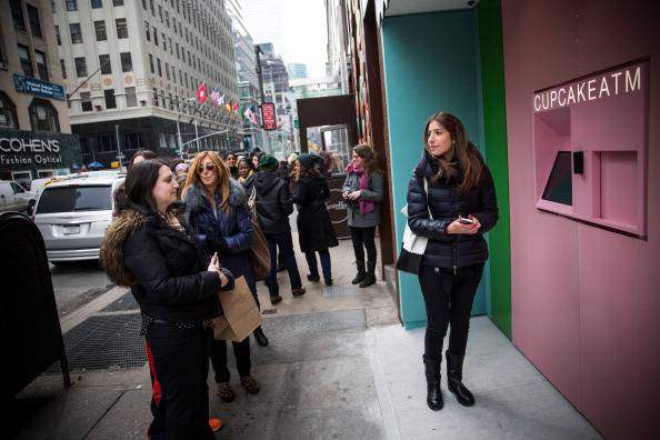 Cupcake Shop Installs 24 Hour Cupcake ATM On Manhattan's Upper East Side