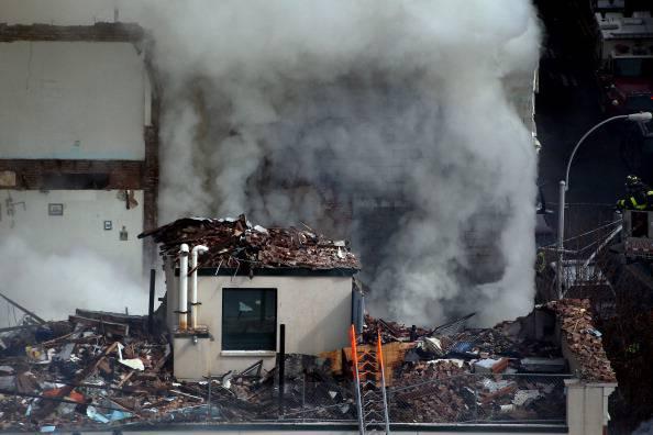 Esplosione per fuga di gas ad Harlem