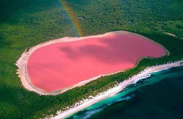 Lago Hiller, Australia