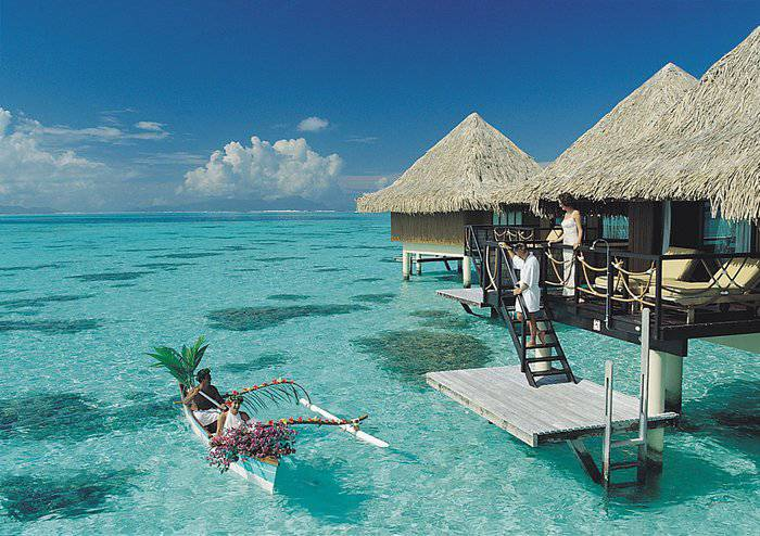 Fiji huts over the water with glass floors quotes Overwater bungalows fiji