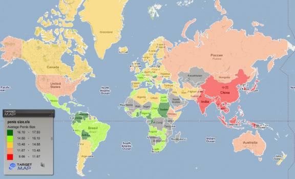 mappa mondiale peni