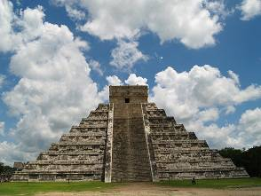 La famosa piramide Maya (foto dal web)