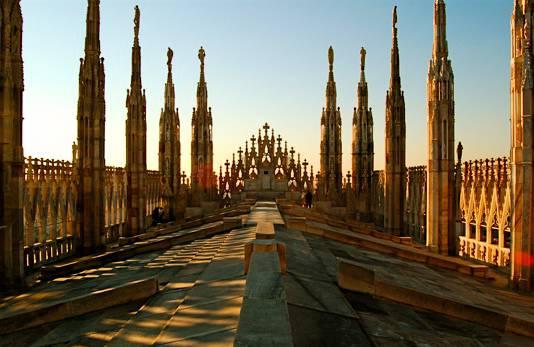 Duomo di Milano ( foto dal web)