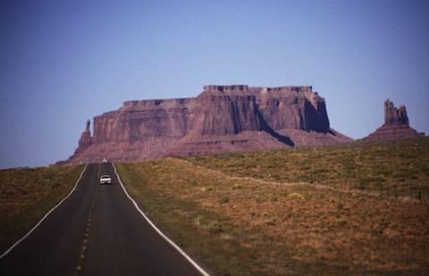 En Route To Kayenta, Arizona