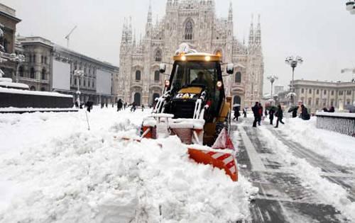 ospedali e scuole chiuse neve in tutto il centro nord roma secondo gli ...