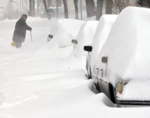 UKRAINE-WEATHER-SNOW-STORM
