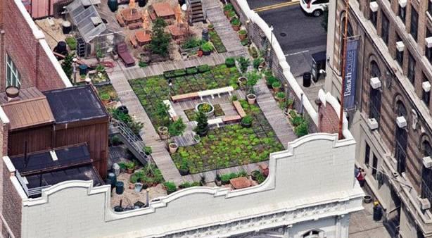 Curiosit new york vista dall 39 alto con i terrazzi pi for New york dall alto
