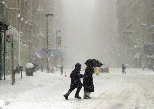 Neve su New York