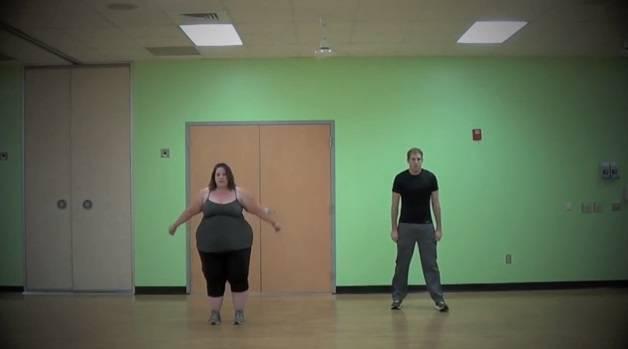 obesa dancing