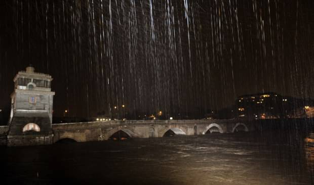 ITALY-WEATHER-RAIN
