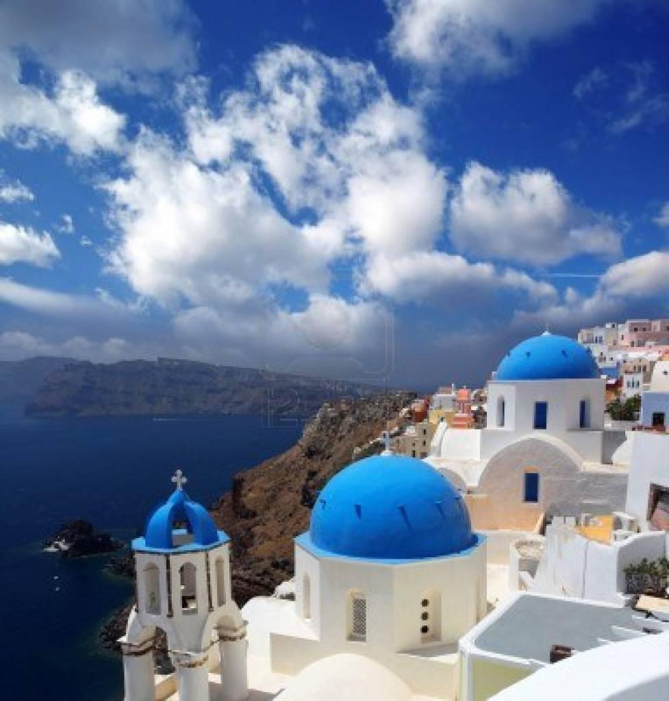 Santorini, Cicladi, Grecia