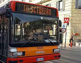 sciopero16 Scioperi Torino: 25 novembre stop bus, tram e metrò