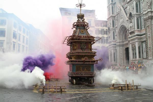 Scoppio del carro - Pasqua Firenze
