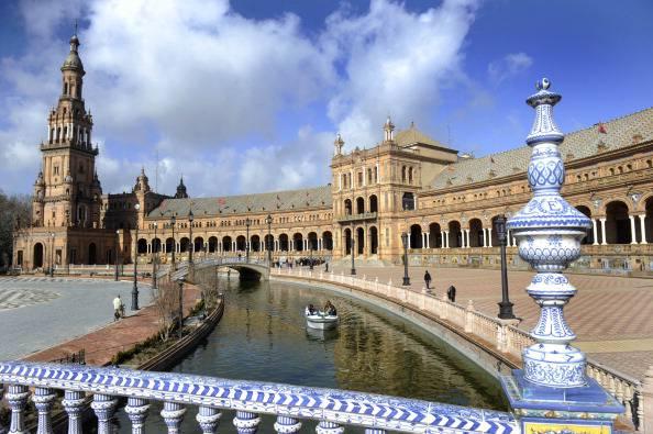 Siviglia, la piazza della città