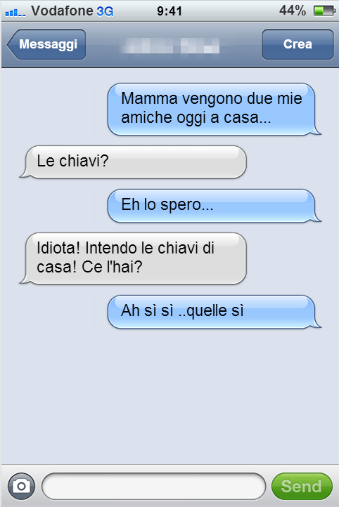 sms mammachiavi