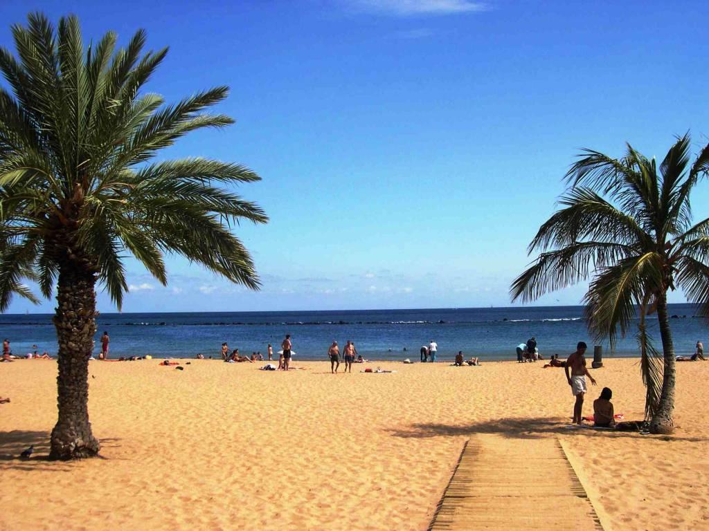 Tenerife, spiaggia Teresitas